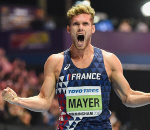 champion du monde 2018 Kévin MAYER